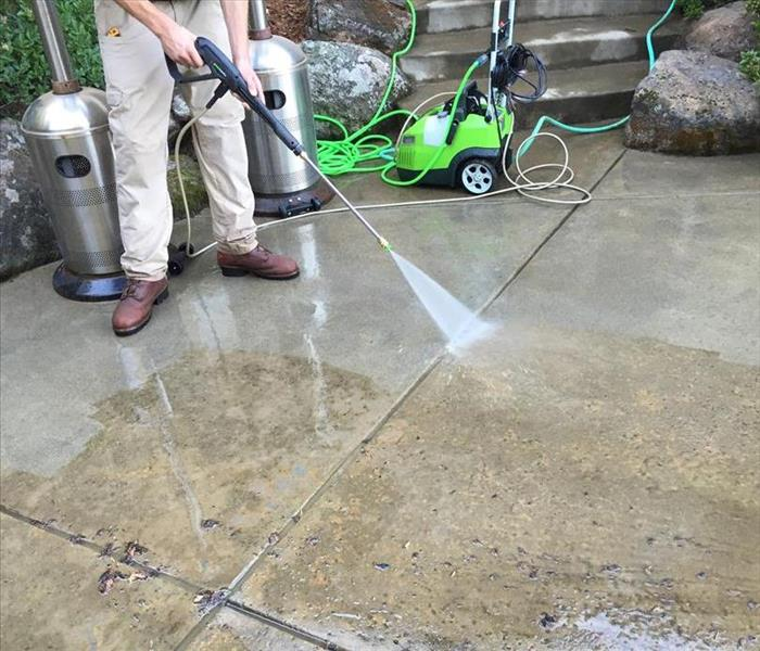 Patio Power Washing in El Dorado Hills, CA
