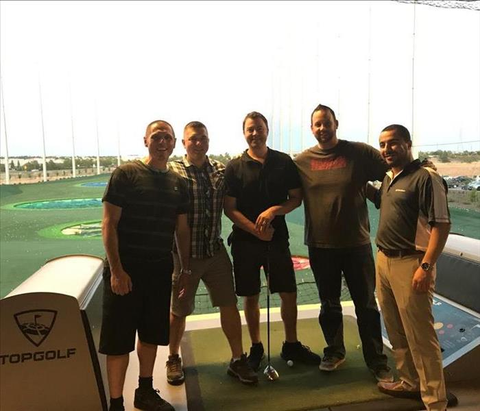 Evening at TopGolf Roseville