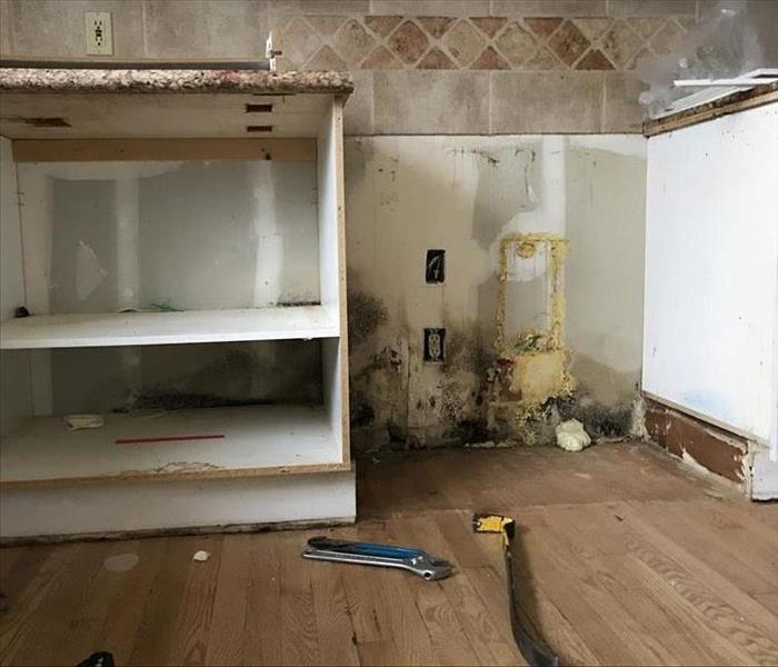 a wall of kitchen cabinets servpro of el dorado placerville gallery photos 10403